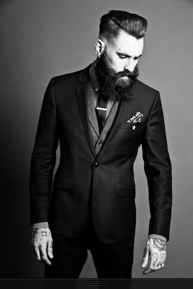 Ricki Hall In Suit