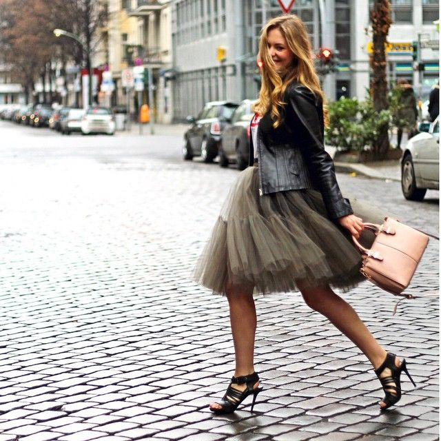1367d87ad3e The Tulle Skirt. It Doesn t Get More Feminine Than That - Just The ...