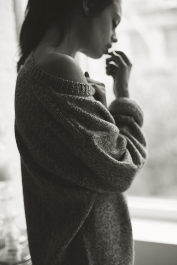 Alexa In Gant Rugger Oversized Sweater Photography By Justin Chung