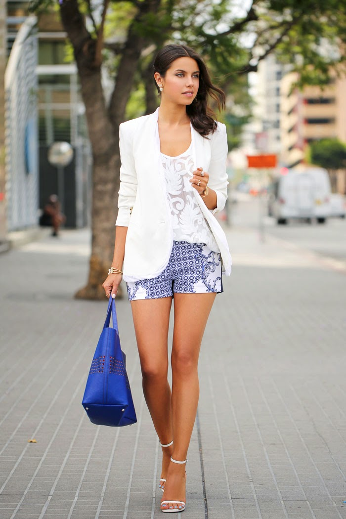 Spring Style Staple Women S White Blazer Just The Design