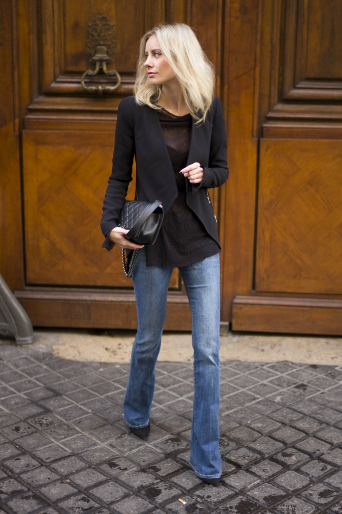 Fashion Trend 2015 Everyoneu0026#39;s Wearing... Flared Jeans - Just The Design