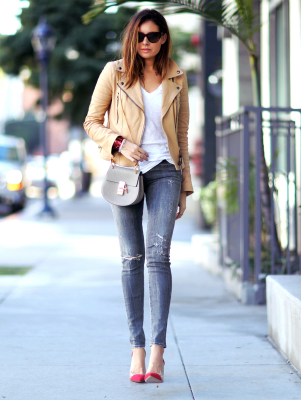 The Best Of The Best... Leather Jackets Spotted In Autumn/Winter ...