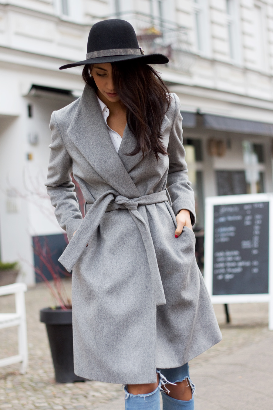 Autumn Has Arrived... So Has The Robe Coat Trend