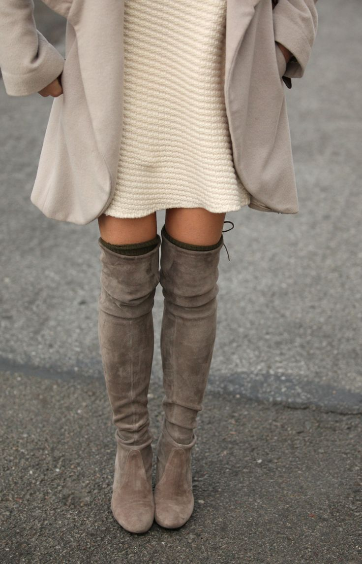 Over-The-Knee Boots Trend, Autumn/Winter 2014 - Just The Design