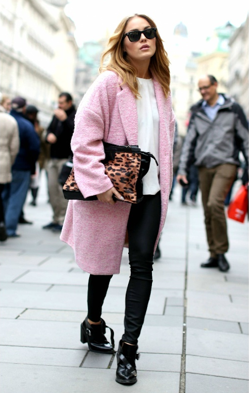 Powder Pink Coat