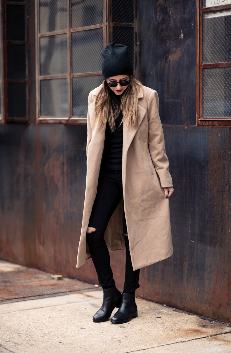 Black And Camel Outfits - This Is How To Style The Look - Just The