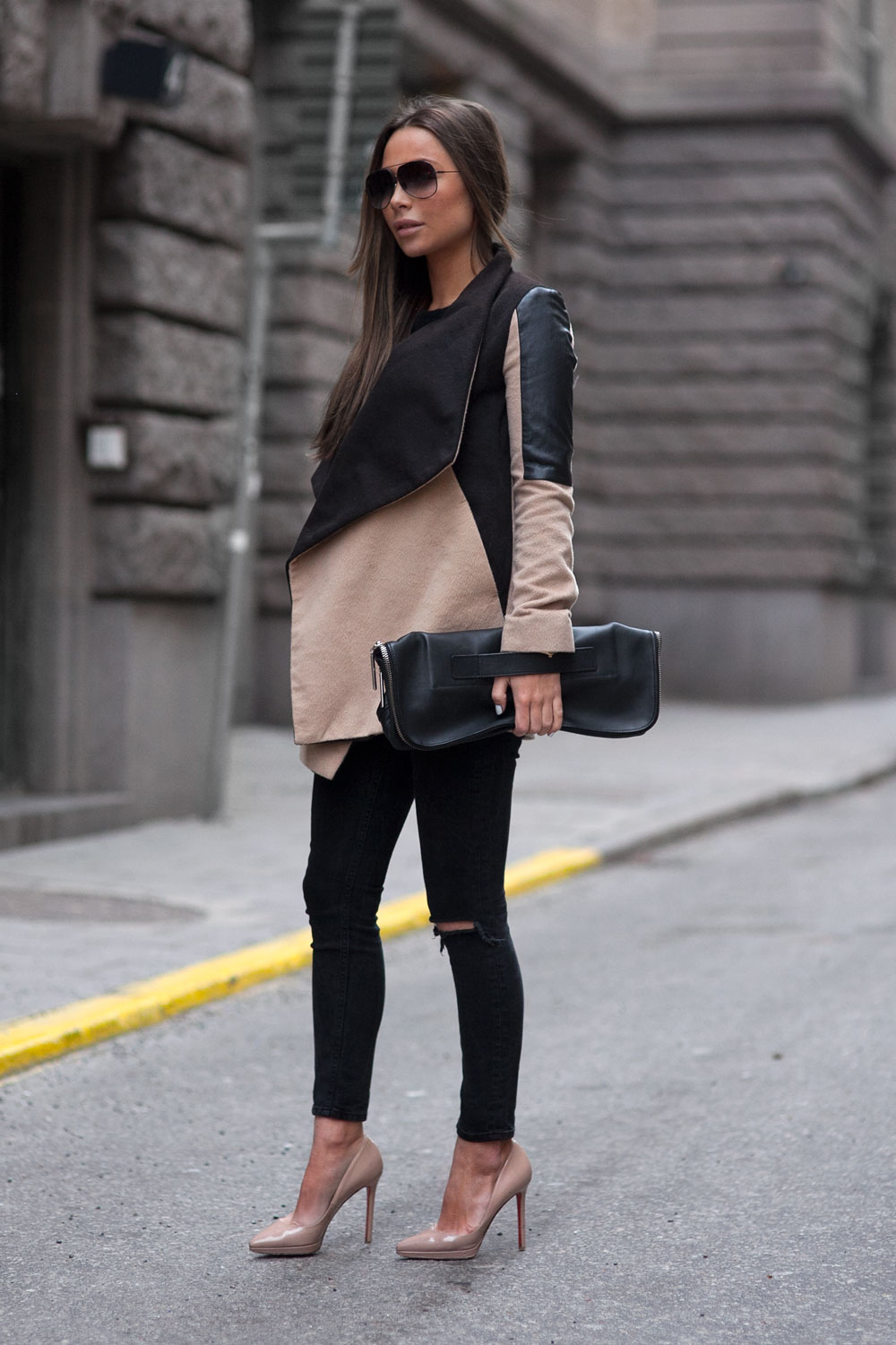 Black And Camel Outfits - This Is How To Style The Look - Just The Design