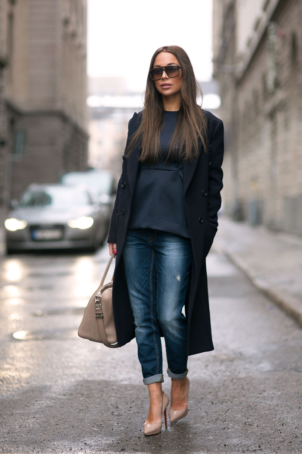 Johanna Olsson goes street style in Stockholm