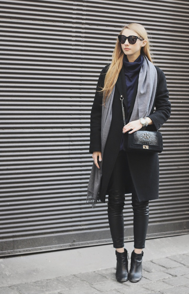 Black And Blue Outfits... Does It Work? - Outfit Inspiration ...