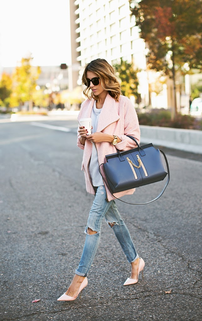 The Blush Pink Trend That Will Change Your Wardrobe - Outfits And Ideas - Just The Design