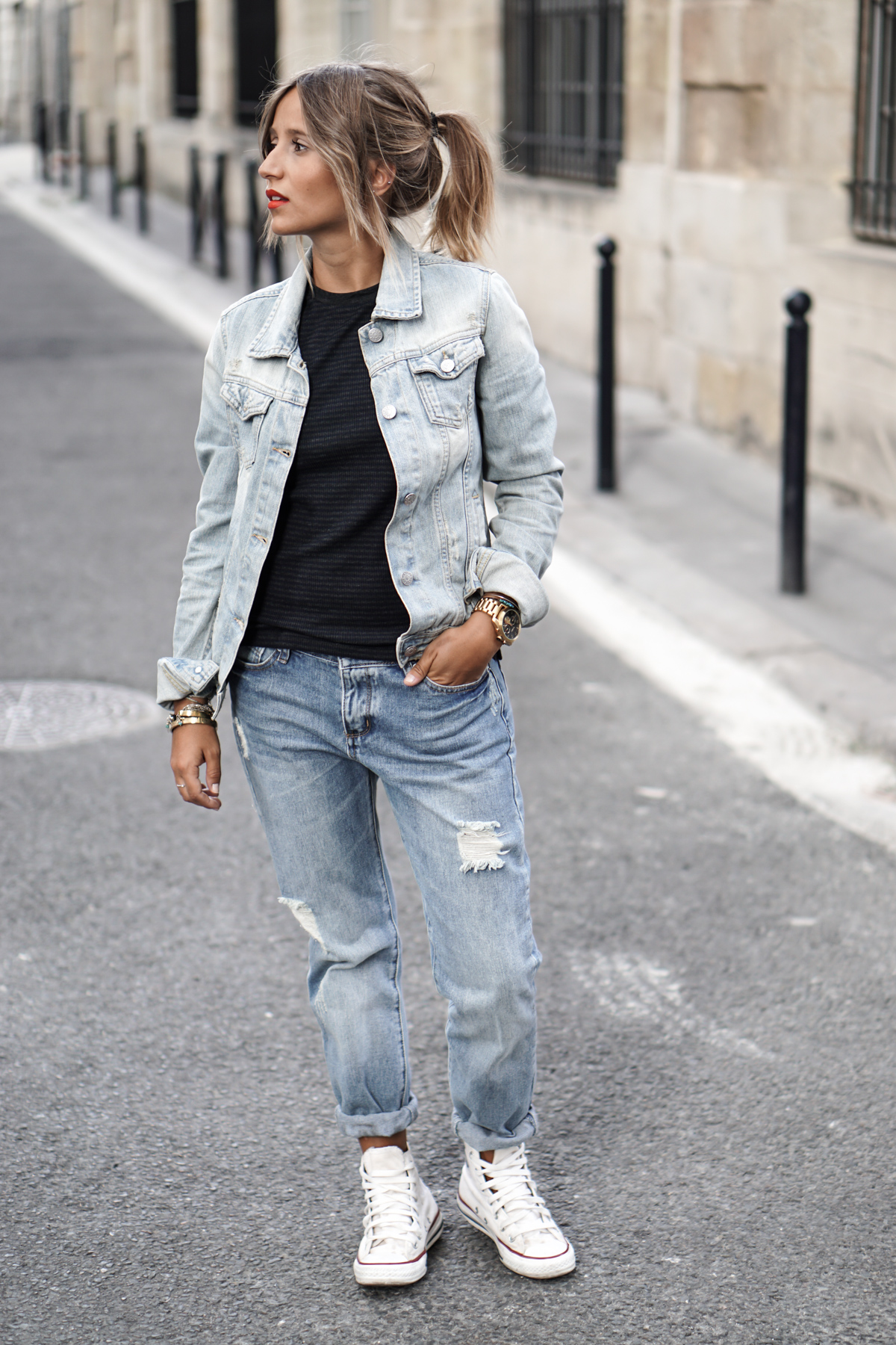 long over due our denim on denim trend file outfits and