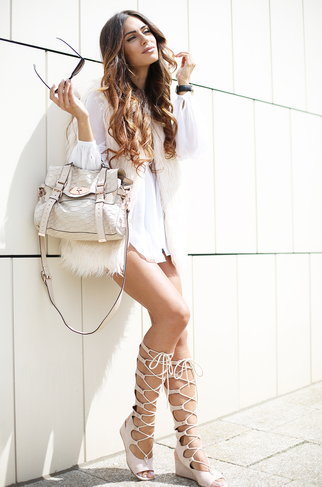 Gladiator Heels With Dress