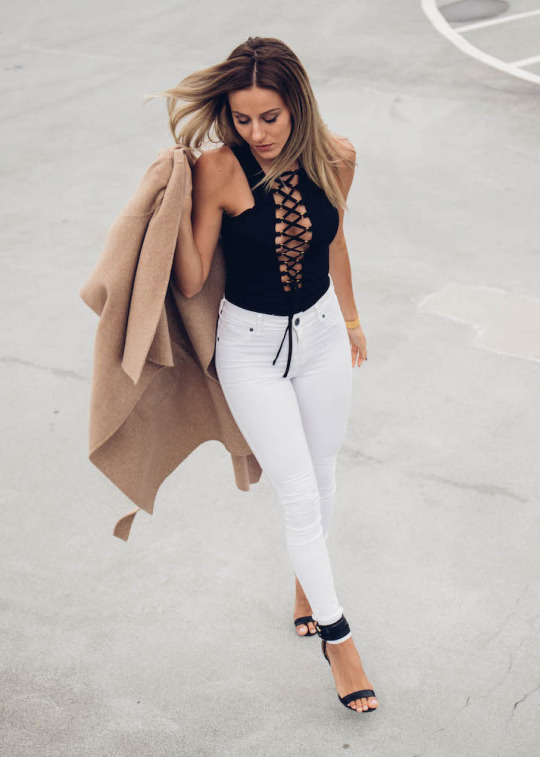 Lace Up Detailing: 30 Ways To Wear The Trend - Just The Design