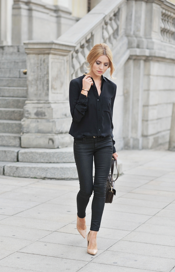 Black Shirt Outfit | Is Shirt