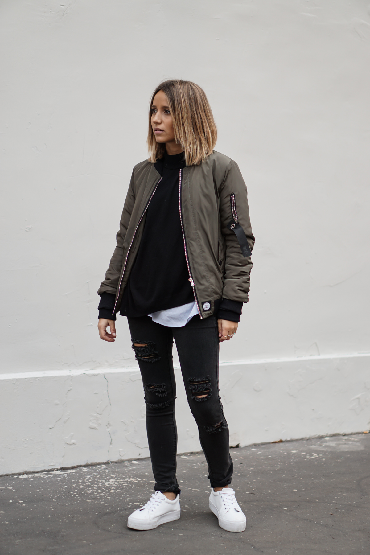 Style Tips On How To Wear A Bomber Jacket