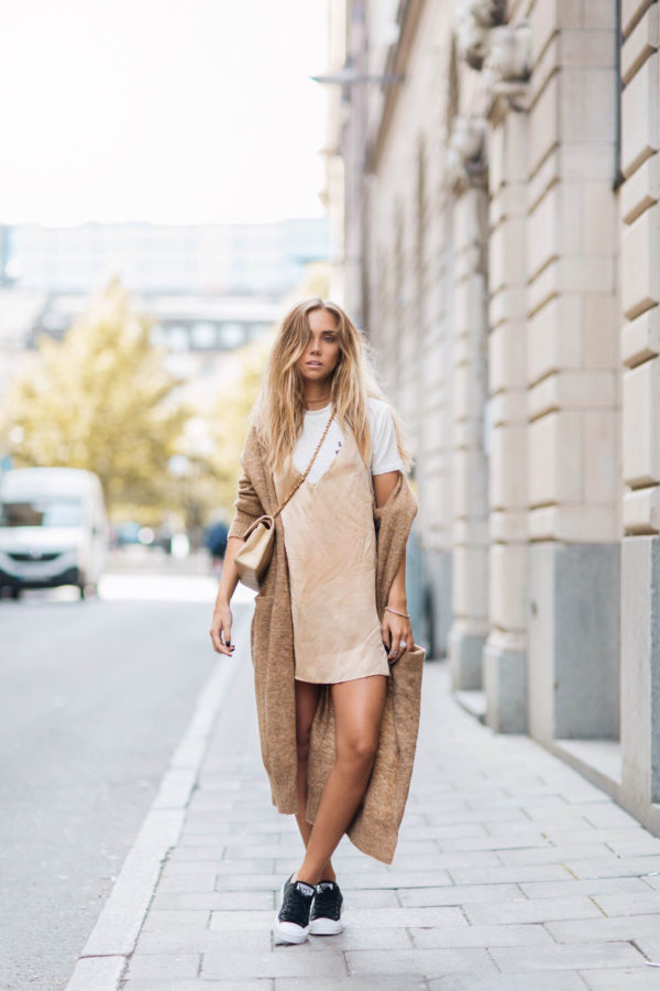 How To Wear The Slip Dress Trend With Confidence
