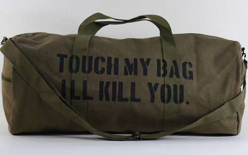 """Touch My Bag, I'll Kill You"" By CFDA"