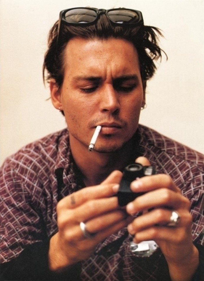 J. Depp Fashion Style Via The Guardian