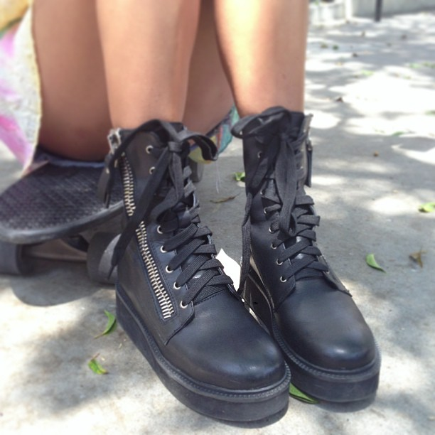 Trench Boots By UNIF