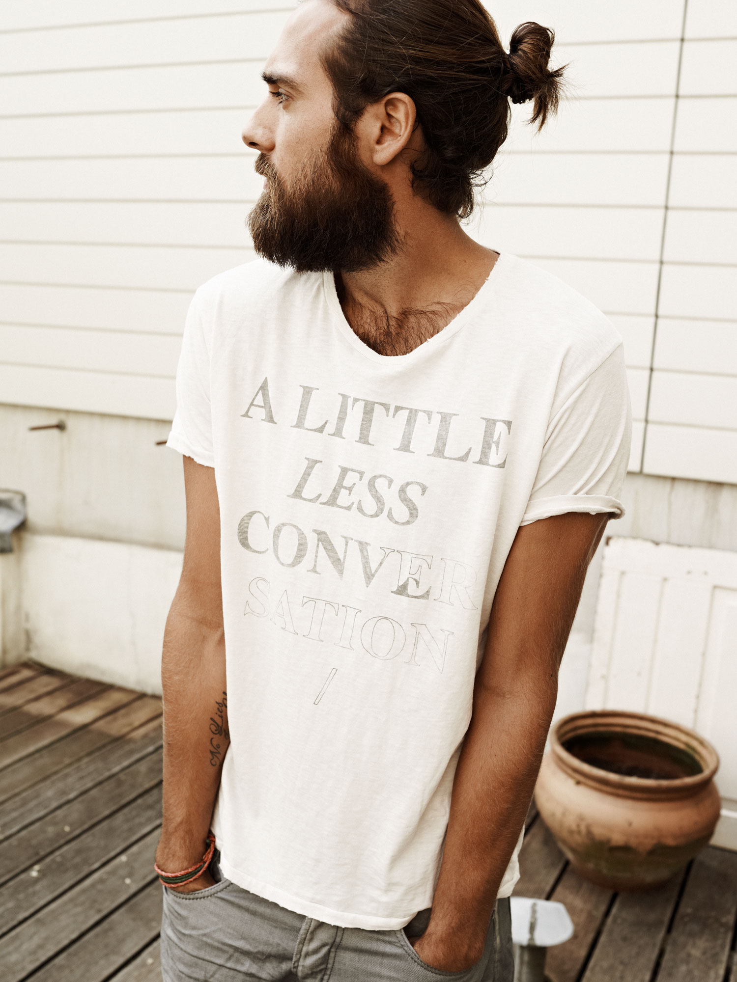 """A Little Less Conversation"" By Scotch & Soda"