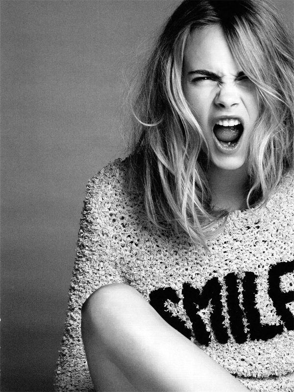 """Then Don't Smile, Cara"" (Top Rules), From Vogue"