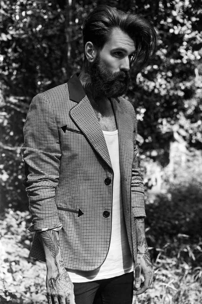 Men's Blazer And Beard...