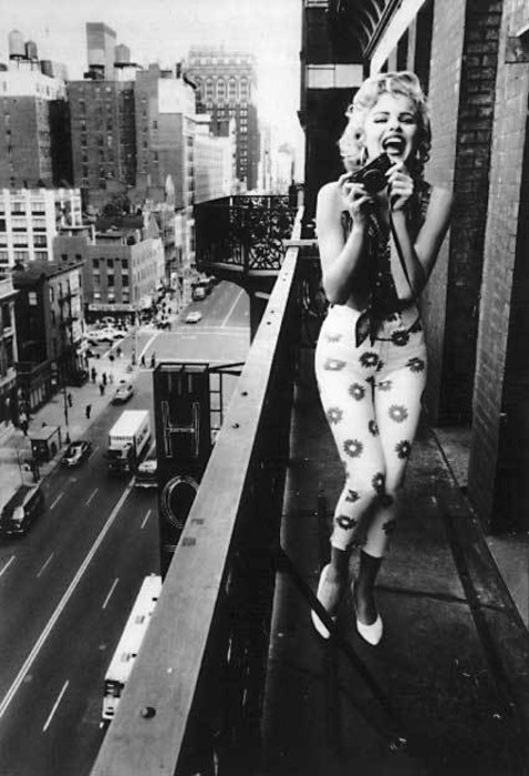 Marilyn At The Chelsea Hotel