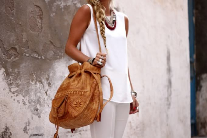Moroccan Leather Bag Inspiration