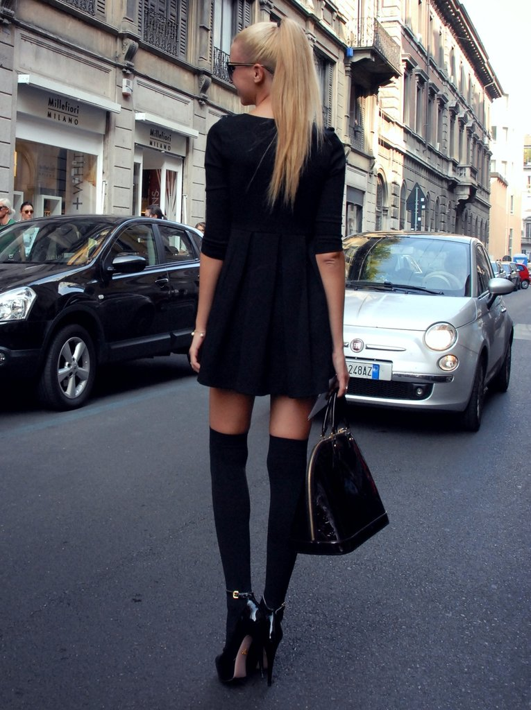 All In Black Fashion Statement