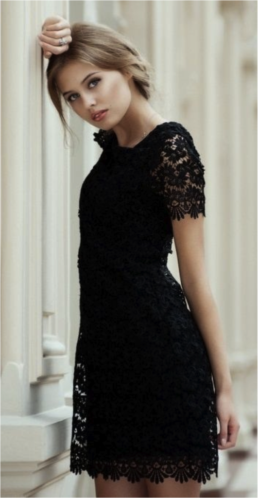 Black Dress Fashion Inspiration