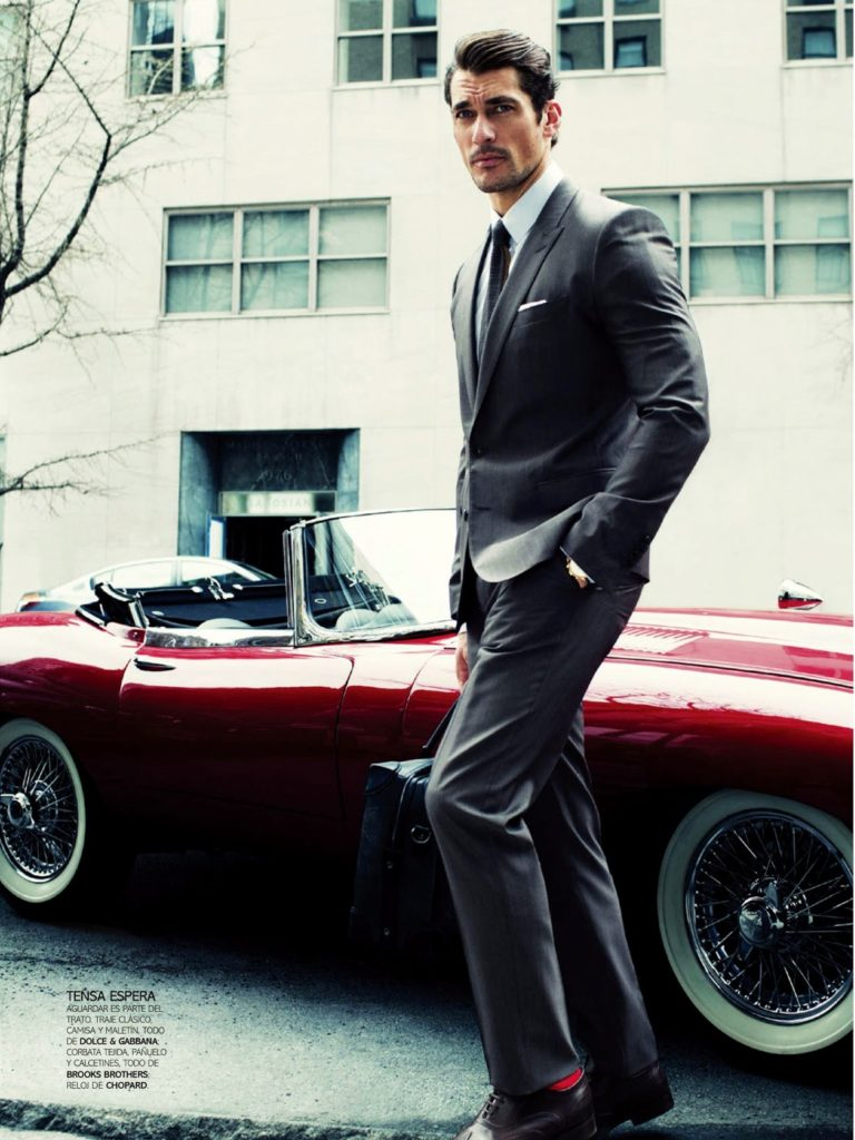 Love The Matching Sock/Car And The Grey Suit. Chopard Watch By The Way