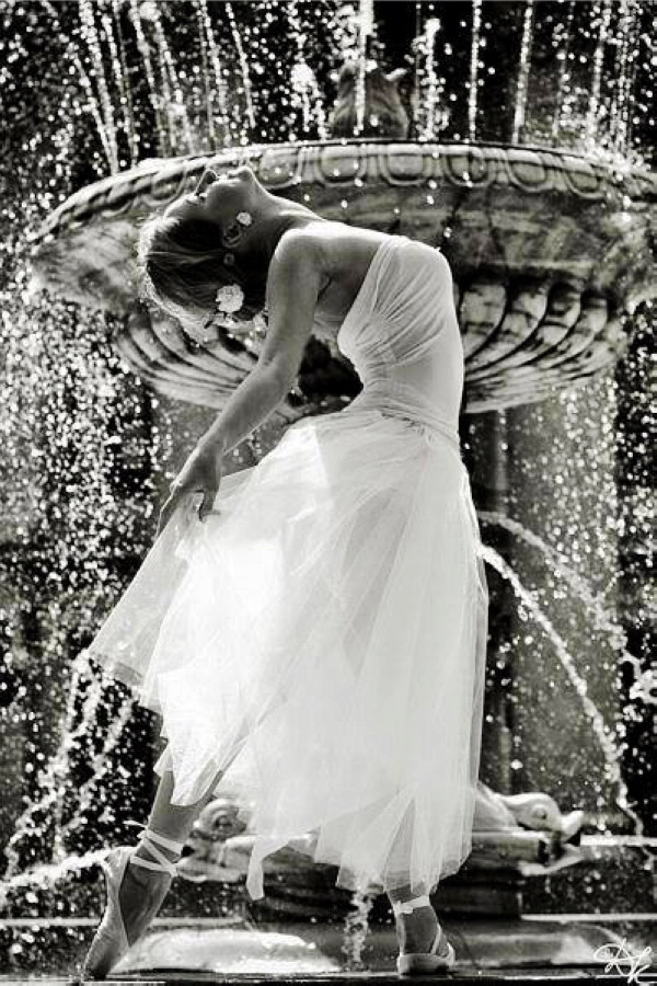 Dress to Dance By The Fountain