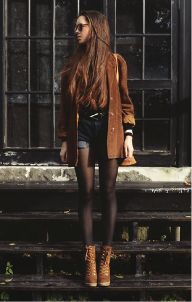 Brown Jacket And Matching Boots