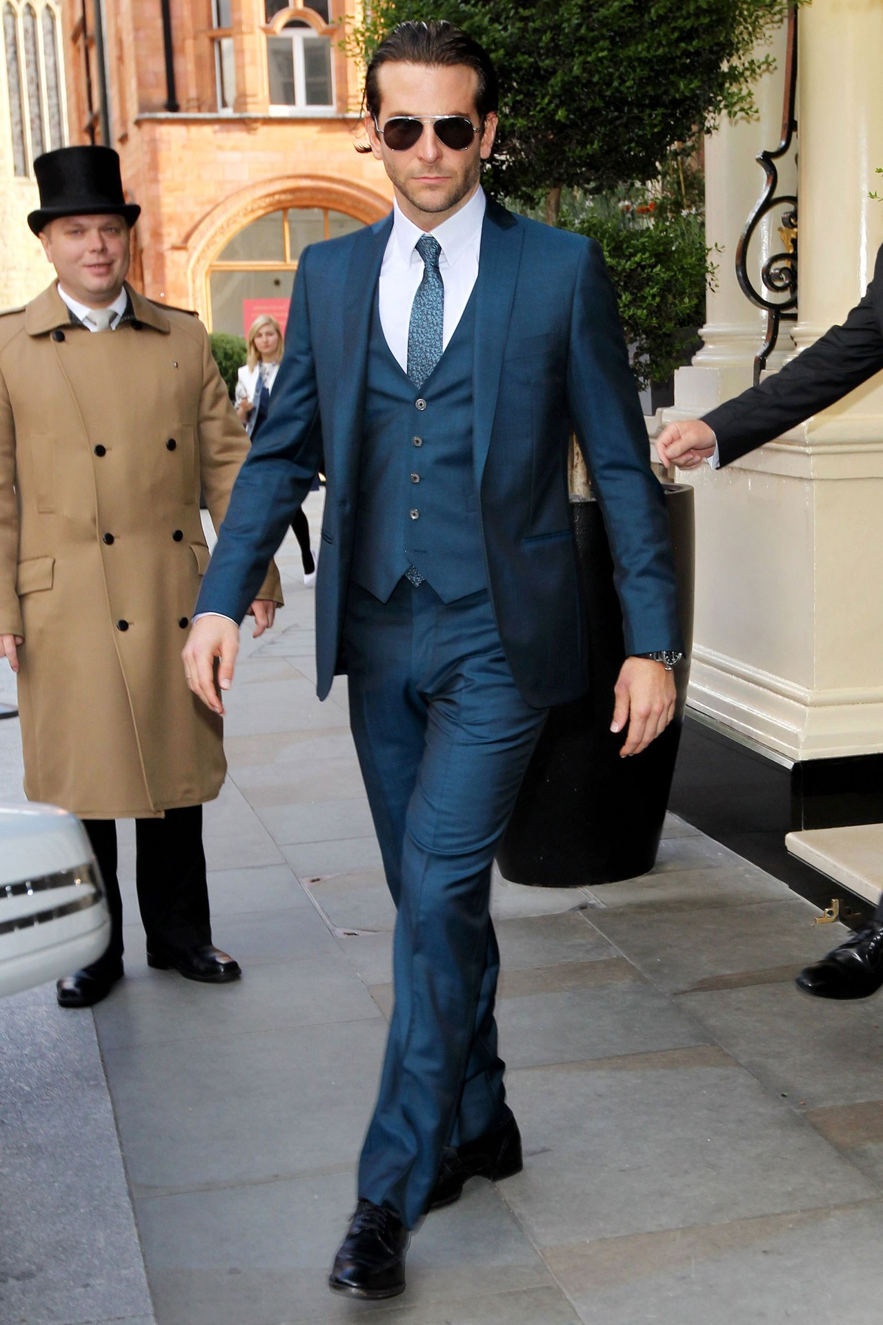 Check Out Bradley's Suit. (GQ Magazine)