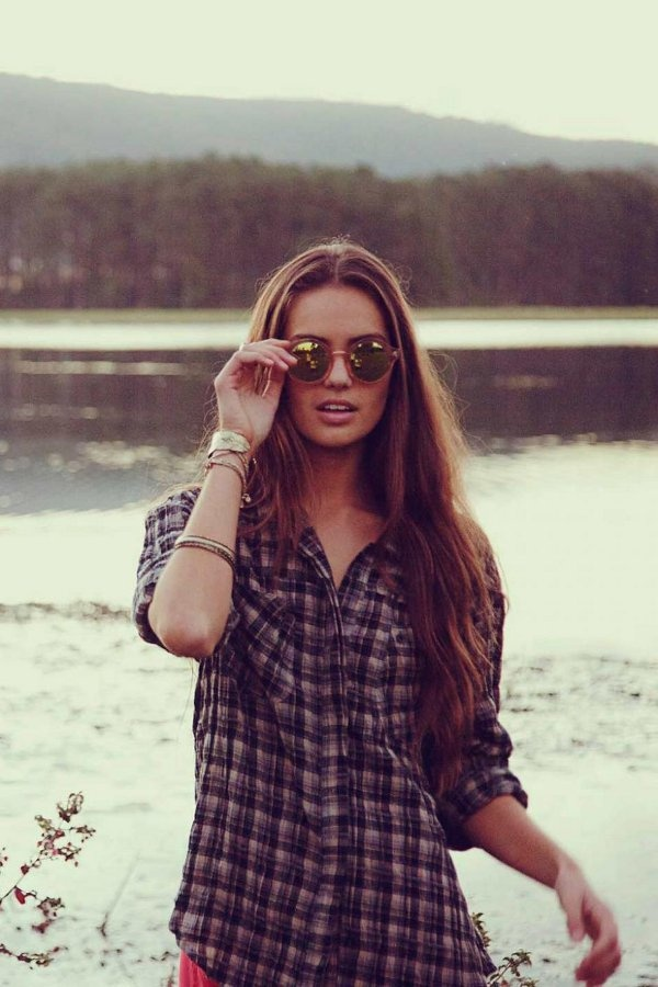 Flannel Shirt By Lilya