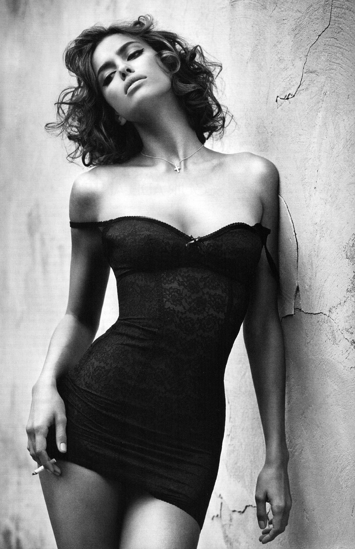 Irina Sheik Wears That Dress In GQ Spain for their December 2010 Issue