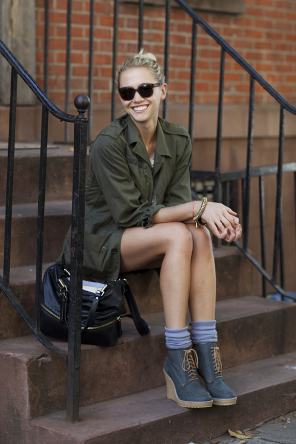Military Street Style Via The Sartorialist
