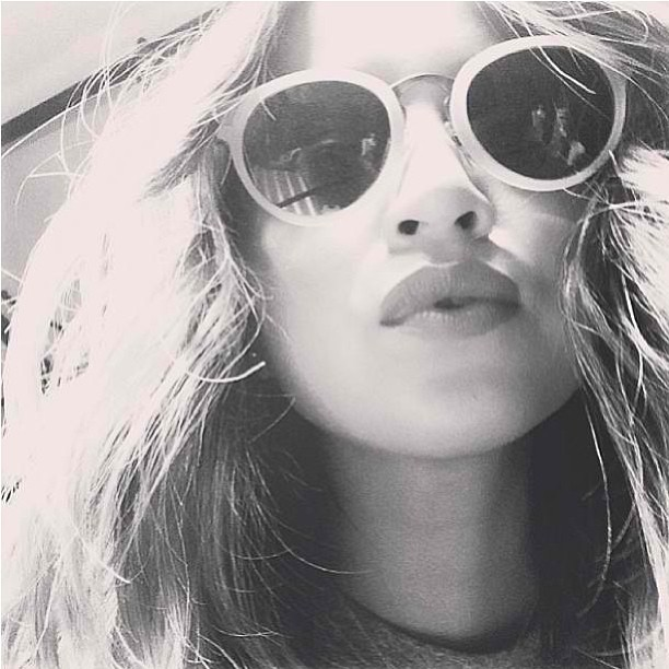 Sincerely Jules In ivory Nera Sunglasses By Vida Soleil