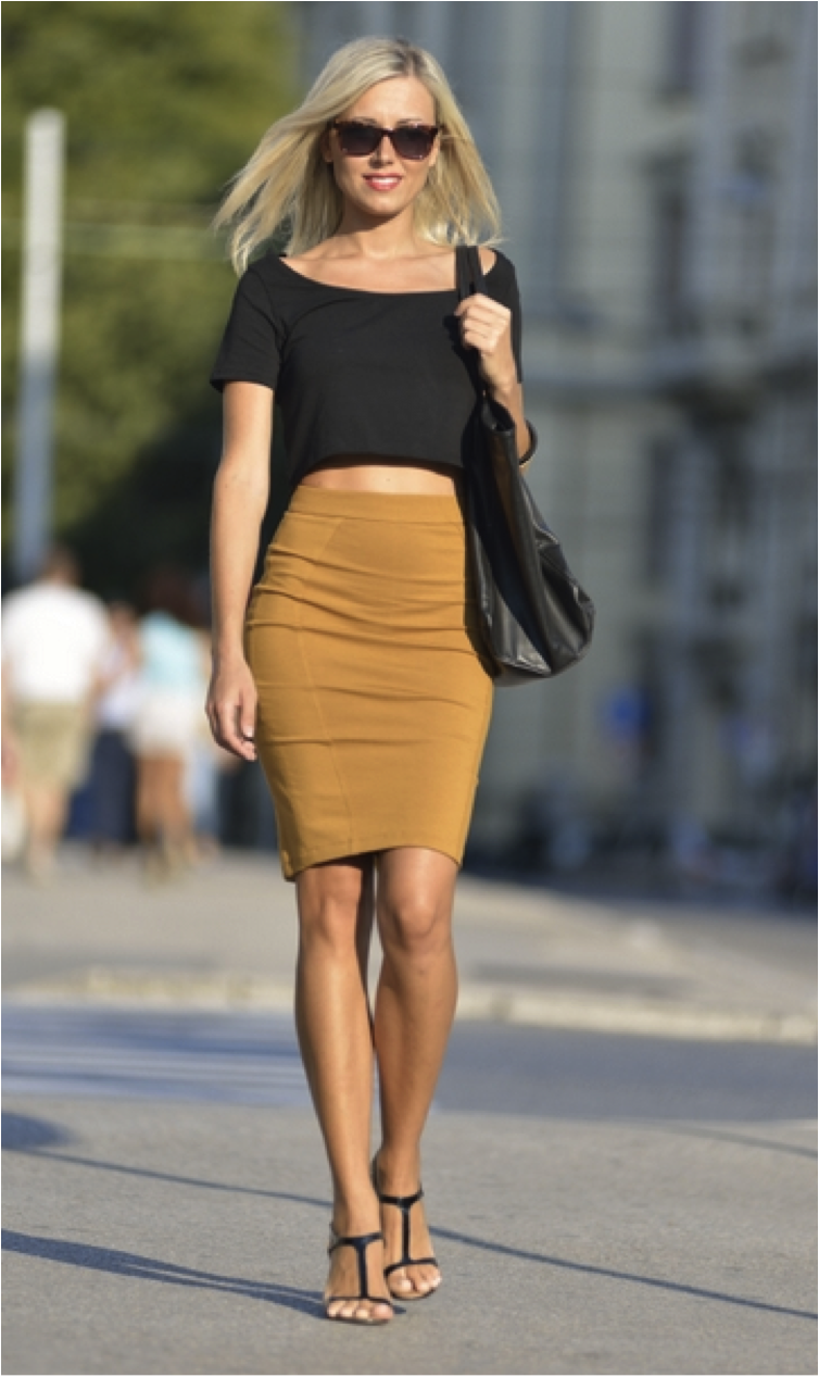 Sara From Hello Miss Moda Wearing Skirt by Fiona C.