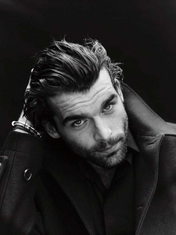 Stanley Weber In Christian Dior Coat