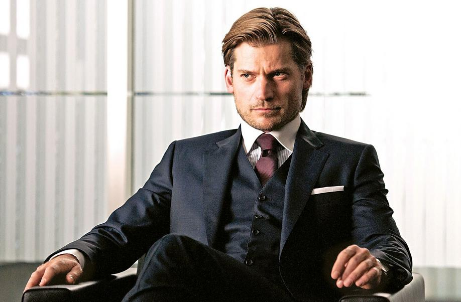 Nikolaj Coster-Waldau Wear A Hugo Boss Suit