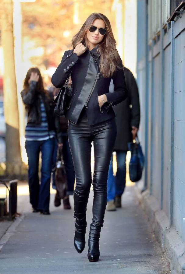 Leather Leggings Look Of The Day