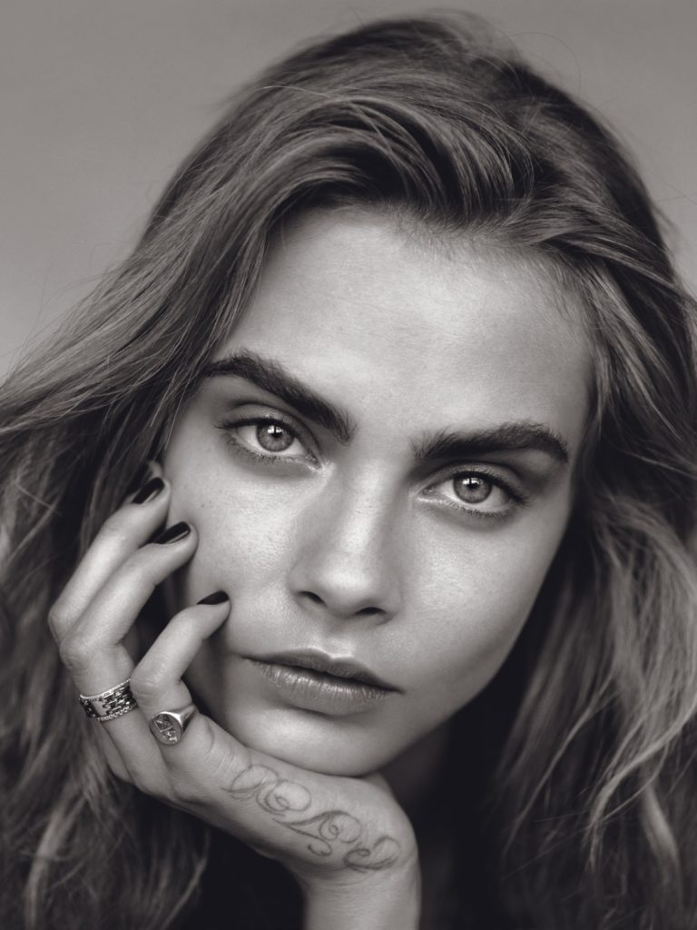 British Cara Delevingne by Alasdair McLellan for Vogue UK January 2014
