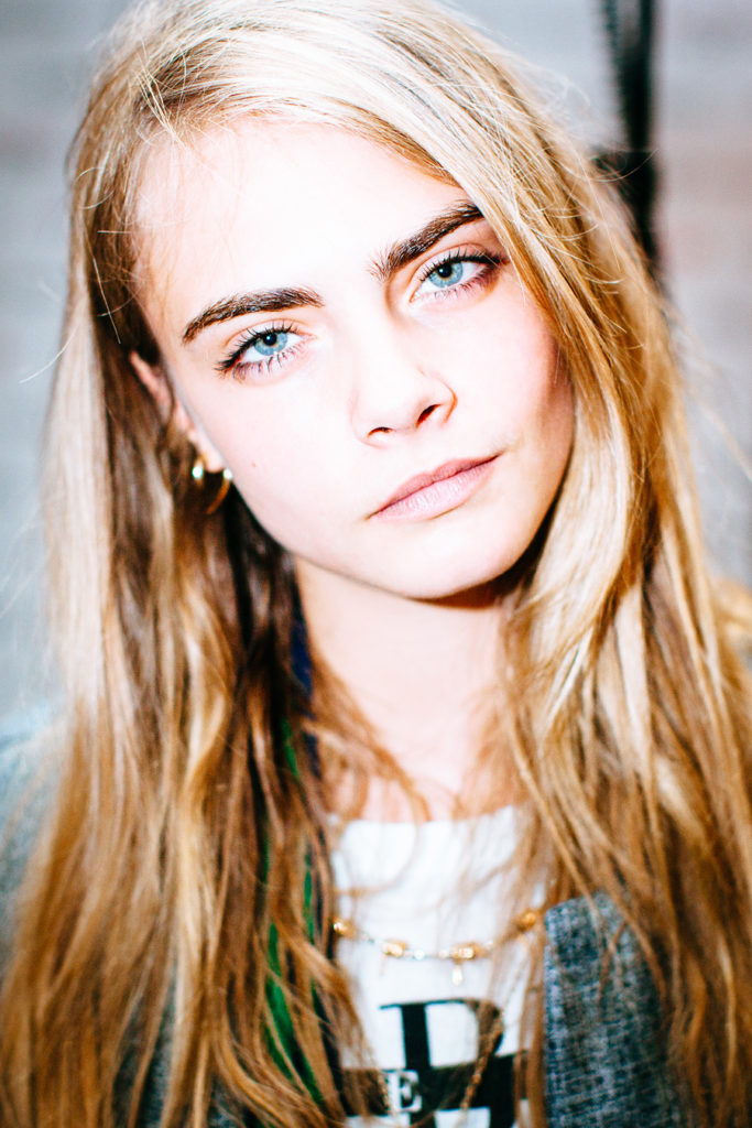 Cara Delevingne At The Marie Claire 25th Birthday Bash February 2014