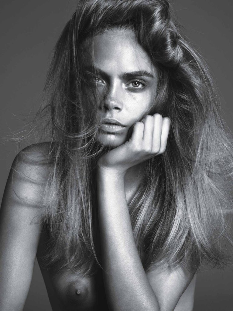 Cara Delevingne by Mert & Marcus the Cover Shoot of W Magazine September 2013