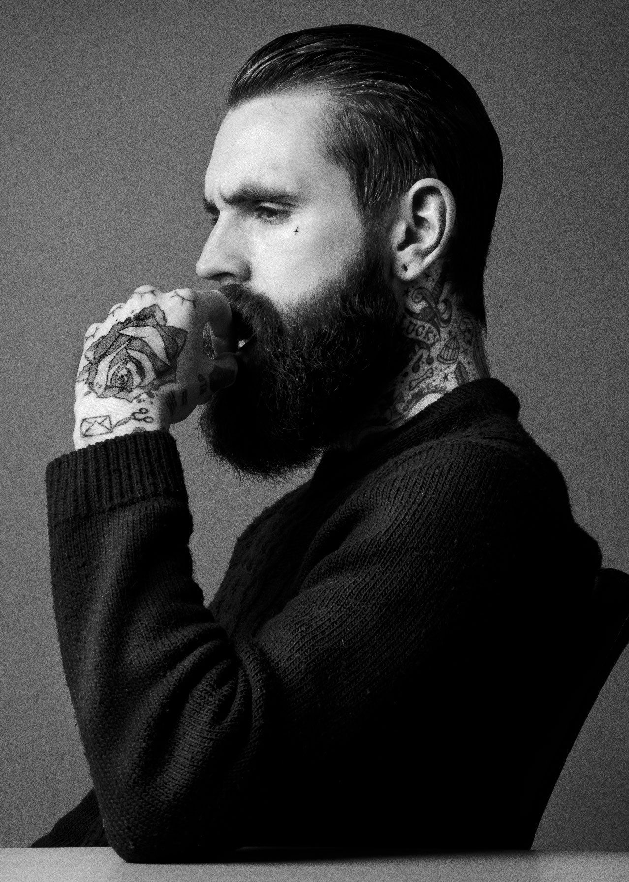 Ricki Hall, Top Man & Model