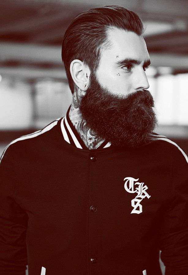 Model Ricki Hall Photographed For Fashion Brand The Kooples