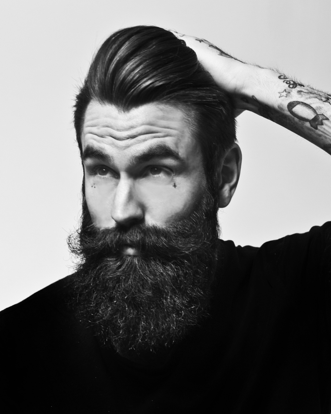 Ricki Hall Black And White By Matthew Pandolfe