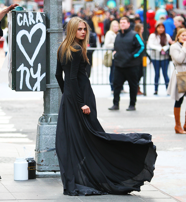 Cara Delevingne Loves NY Via Evening Standard