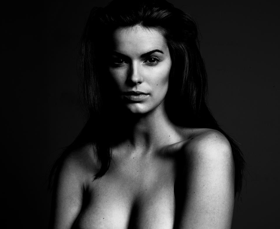 Robyn Lawley in a new head shot by Georges Antoni, October 2011